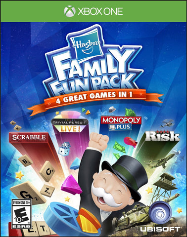 Hasbro Family Fun Pack For Xbox One (Physical Disc)