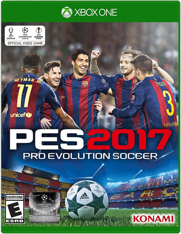 Pro Evolution Soccer 2017 For Xbox One (Physical Disc)