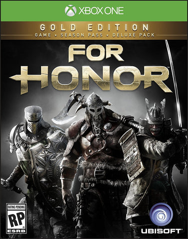 For Honor: Gold Edition Pre-Order For Xbox One (Physical Disc)