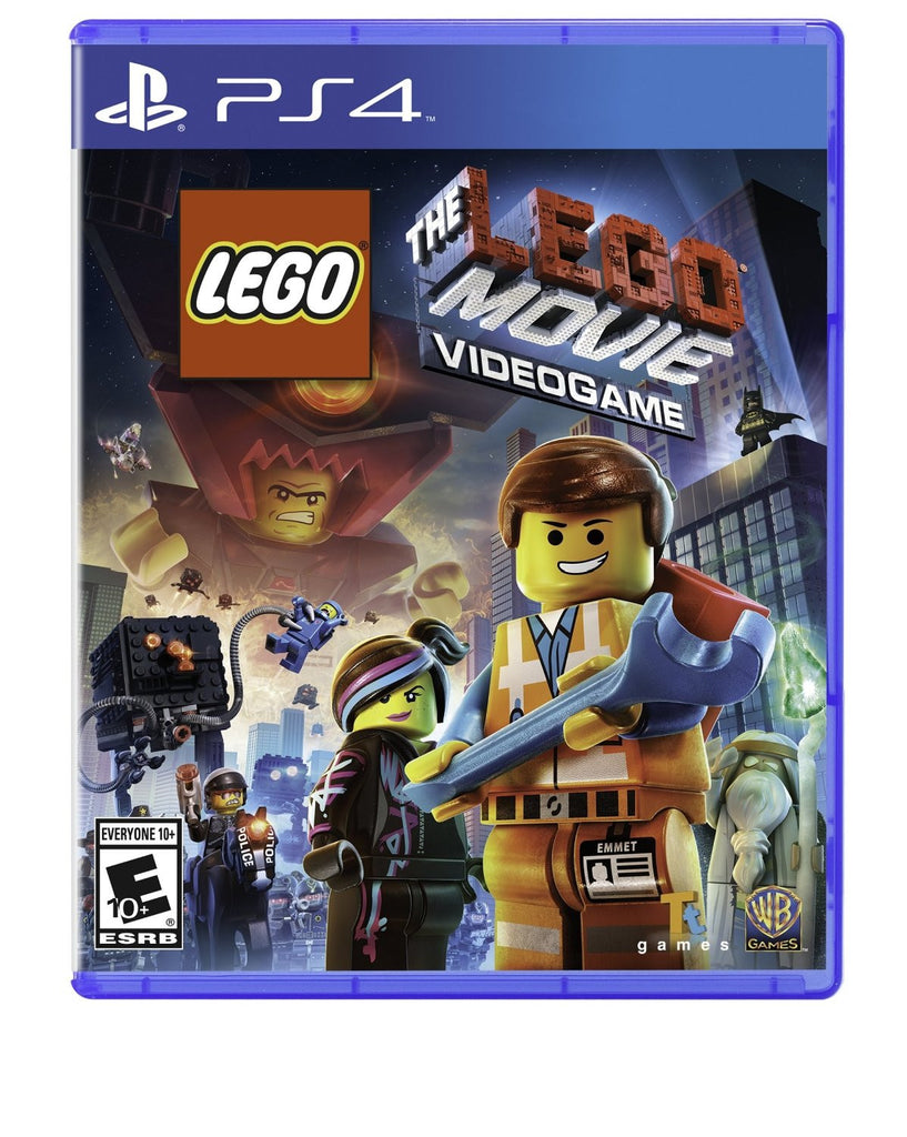 The LEGO Movie Videogame For PlayStation 4 (Physical Disc)