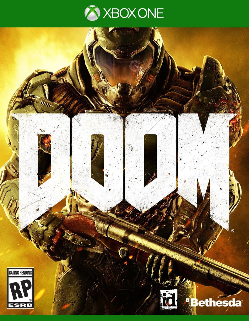 DOOM For Xbox One (Physical Disc)