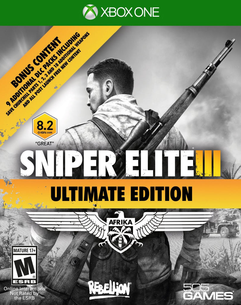 Sniper Elite III Ultimate Edition For Xbox One (Physical Disc)