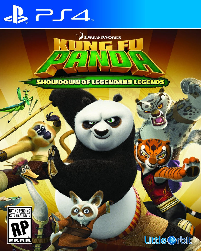 Kung Fu Panda: Showdown of Legendary Legends For PlayStation 4 (Physical Disc)