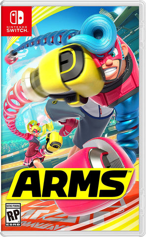 ARMS Pre-Order For Switch (Physical Cartridge)