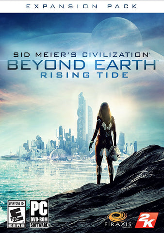 Sid Meier's Civilization Beyond Earth - Rising Tide For PC (Physical Disc)