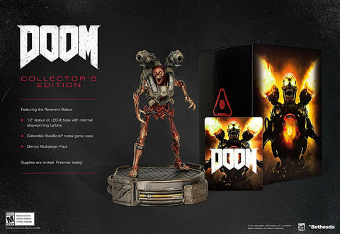 Doom: Collector's Edition For PC (Physical Disc)