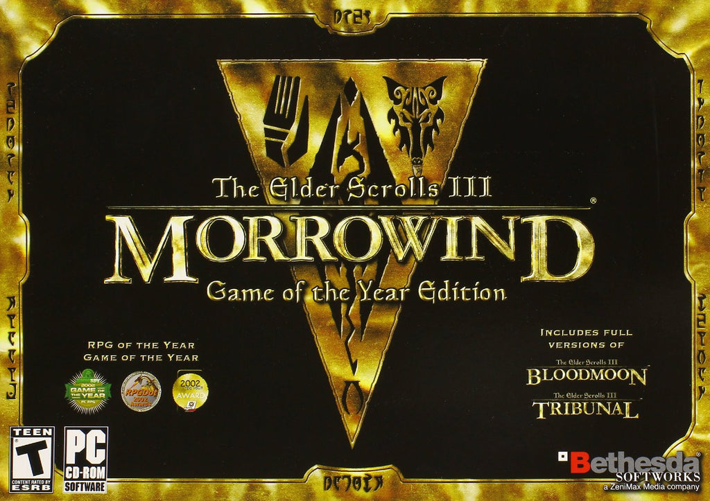 The Elder Scrolls III: Morrowind Game of the Year Edition For PC (Physical Disc)