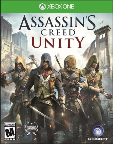 Assassin's Creed Unity For Xbox One (Physical Disc)