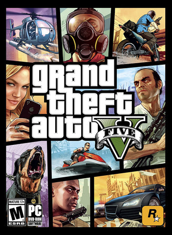 Grand Theft Auto V For PC (Physical Disc)