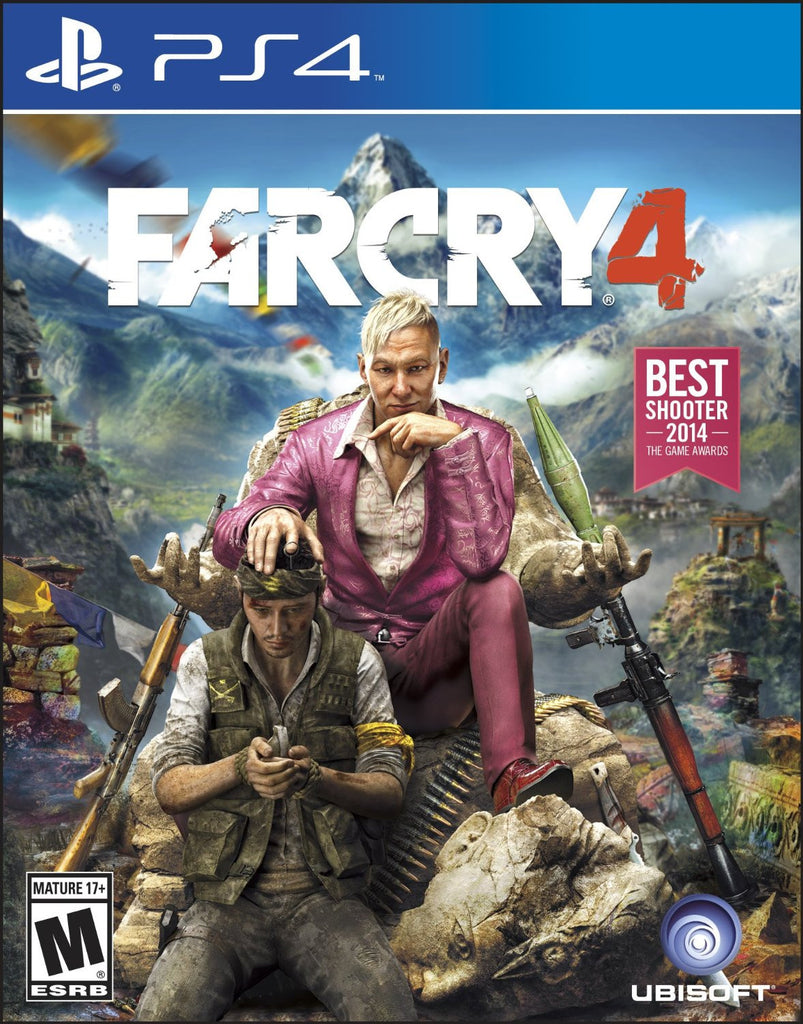 Far Cry 4 For PlayStation 4 (Physical Disc)