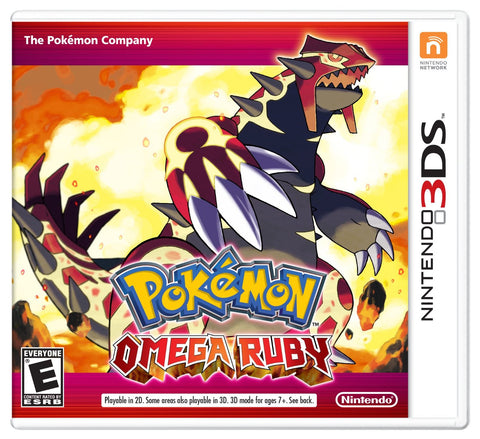 Pokémon Omega Ruby For 3DS (Physical Cartridge)