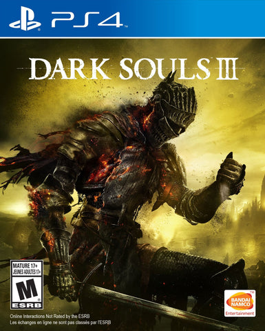 Dark Souls III For PlayStation 4 (Physical Disc)