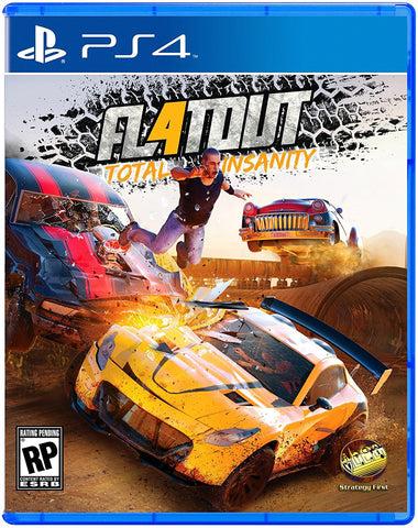 FlatOut 4 Pre-Order For PlayStation 4 (Physical Disc)