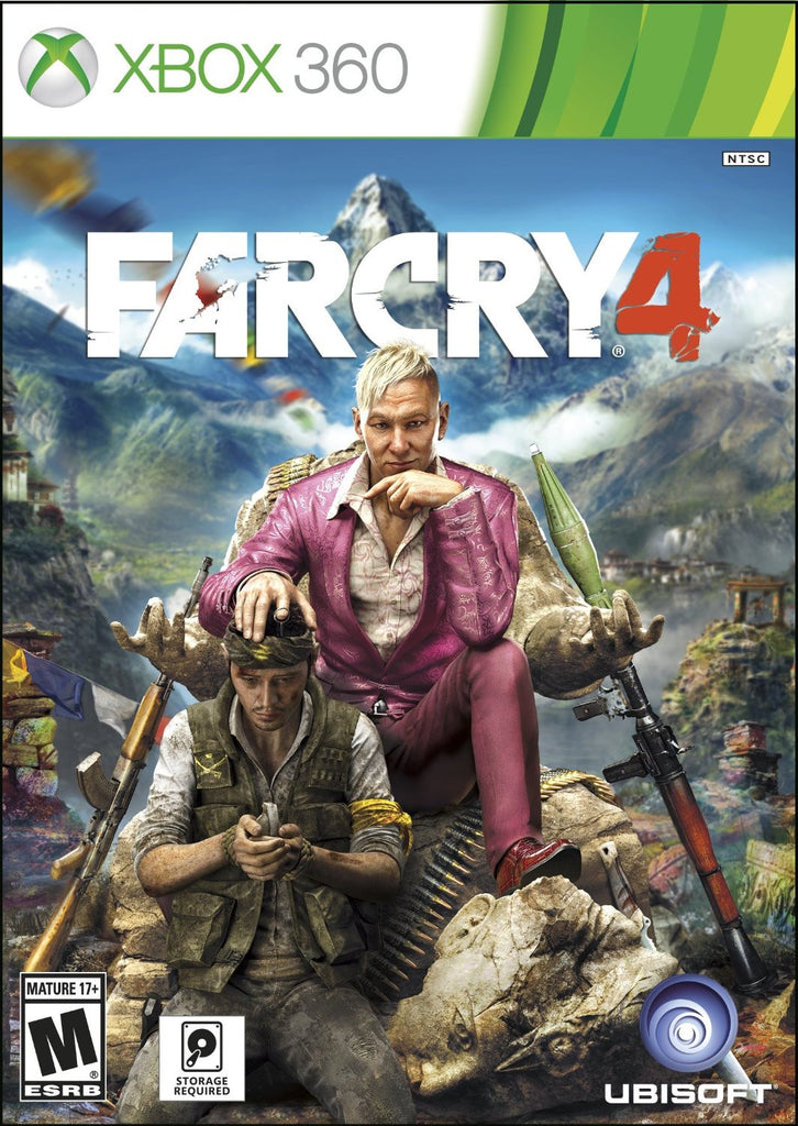 Far Cry 4 For Xbox 360 (Physical Disc)