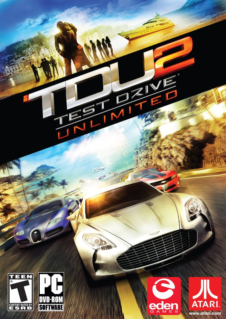 Test Drive Unlimited 2 Windows PC Game Download Steam CD-Key Global