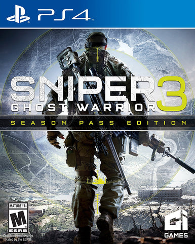Sniper Ghost Warrior 3 - Season Pass Edition Pre-Order For PlayStation 4 (Physical Disc)