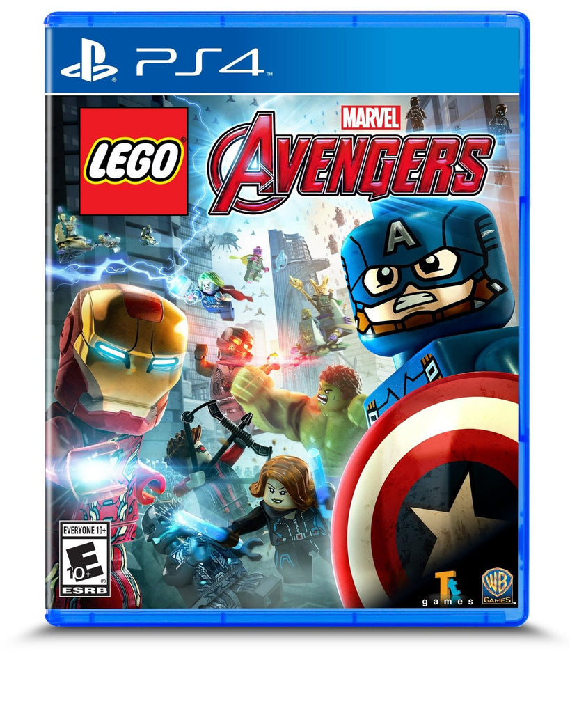 LEGO MARVEL's Avengers For PlayStation 4 (Physical Disc)