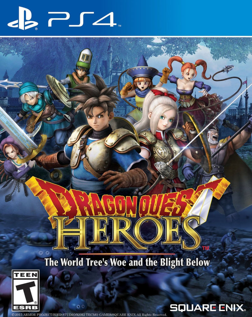 Dragon Quest Heroes: The World Tree's Woe and the Blight Below For PlayStation 4 (Physical Disc)