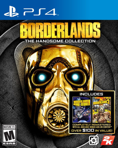 Borderlands: The Handsome Collection For PlayStation 4 (Physical Disc)