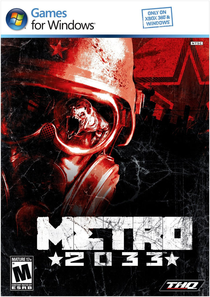 Metro 2033 Windows PC Game Download Steam CD-Key Global