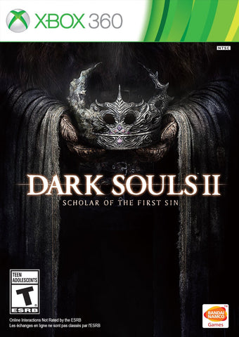Dark Souls II: Scholar of the First Sin For Xbox 360 (Physical Disc)