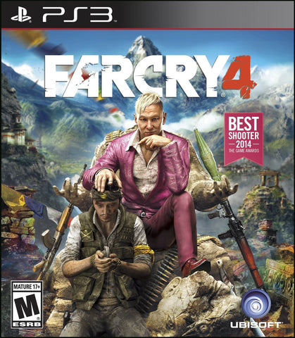 Far Cry 4 For PlayStation 3 (Physical Disc)