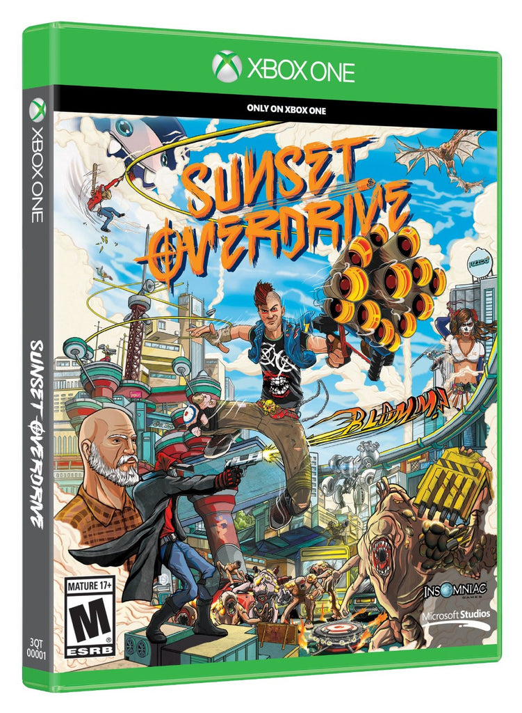 Sunset Overdrive For Xbox One (Physical Disc)