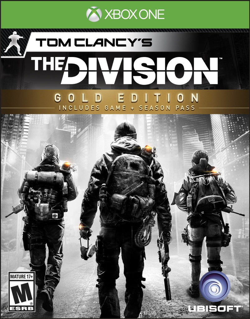 Tom Clancy's The Division Gold Edition For Xbox One (Physical Disc)