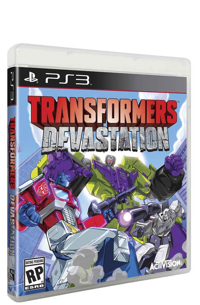 Transformers Devastation For PlayStation 3 (Physical Disc)