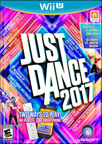 Just Dance 2017 For Wii U (Physical Disc)