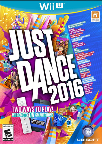 Just Dance 2016 For Wii U (Physical Disc)