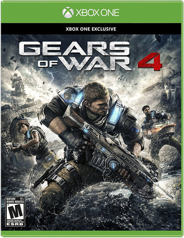 Gears Of War 4 For Xbox One (Physical Disc)