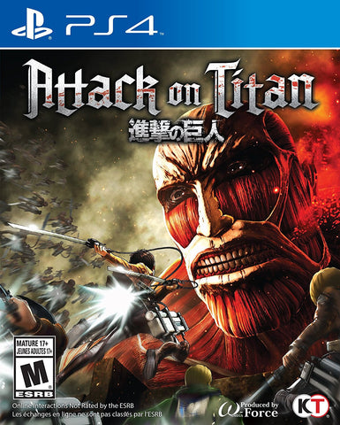Attack on Titan For for PlayStation 4 (Physical Disc)
