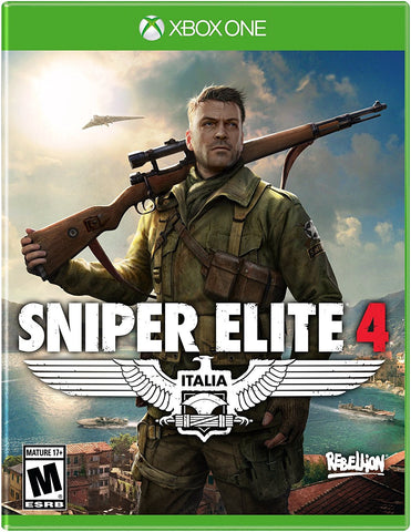 Sniper Elite 4 Pre-Order For Xbox One (Physical Disc)