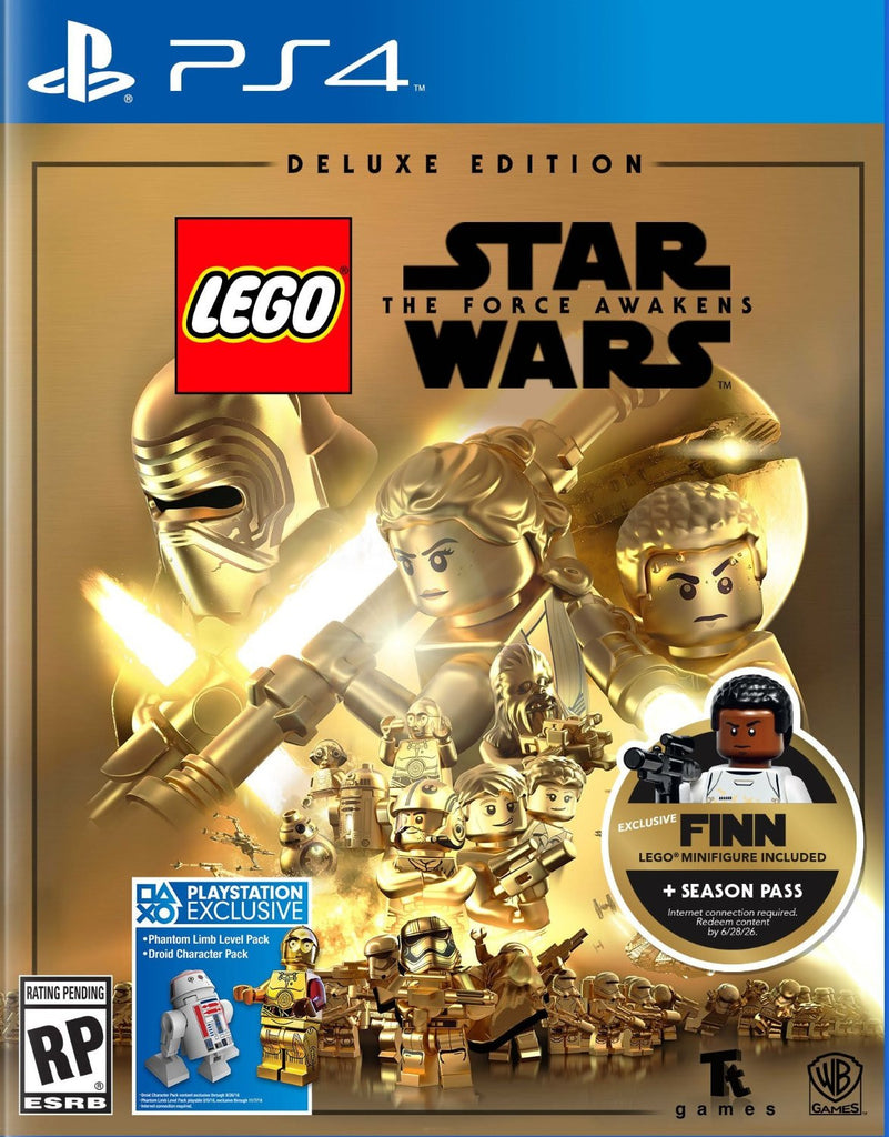 LEGO Star Wars: The Force Awakens - Deluxe Edition For PlayStation 4 (Physical Disc)