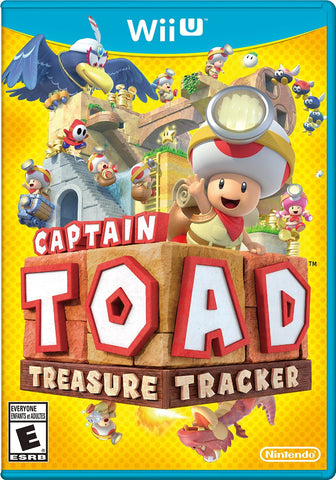 Captain Toad: Treasure Tracker For Wii U (Physical Disc)