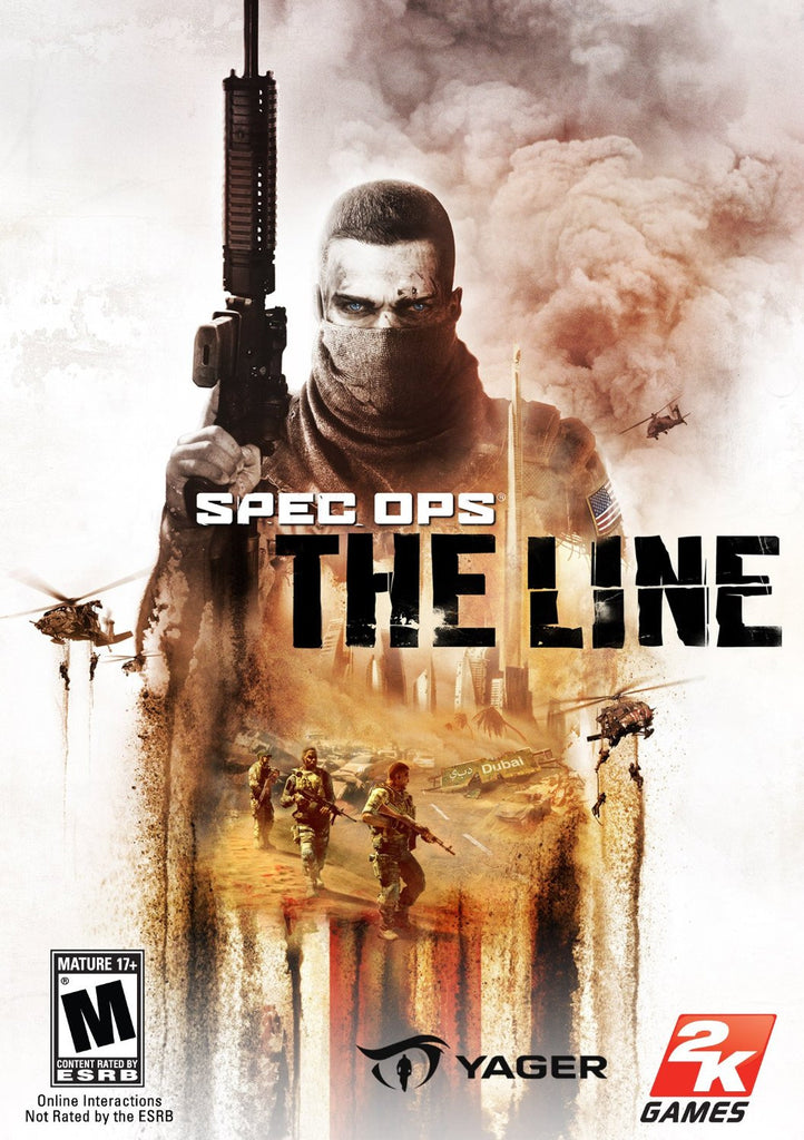 Spec Ops: The Line Windows PC Game Download Steam CD-Key Global