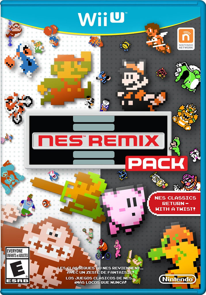 NES Remix Pack For Wii U (Physical Disc)