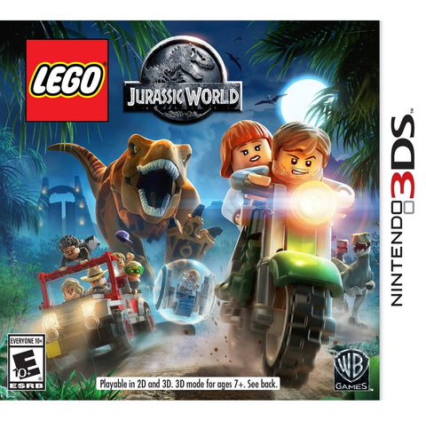 LEGO Jurassic World For 3DS (Physical Cartridge)