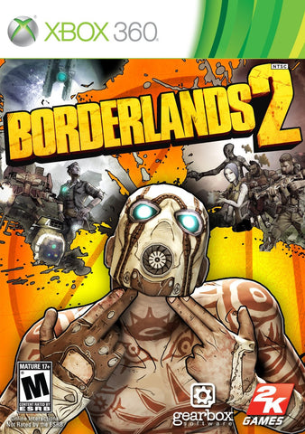 Borderlands 2 Xbox 360 Digital Game Download Xbox Live CD-Key Global