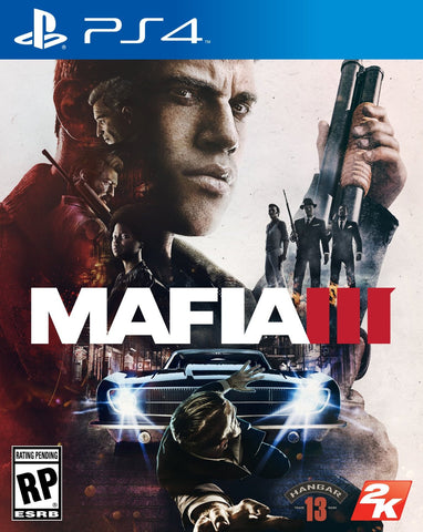 Mafia III For PlayStation 4 (Physical Disc)