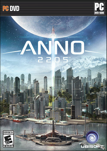 Anno 2205 For PC (Physical Disc)