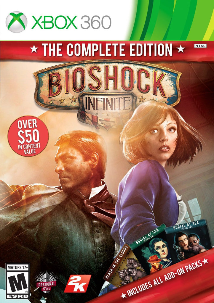 Bioshock Infinite: The Complete Edition For Xbox 360 (Physical Disc)