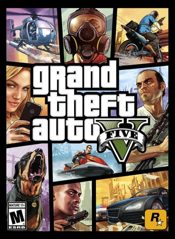 Grand Theft Auto V Windows PC Game Download Steam CD-Key Global