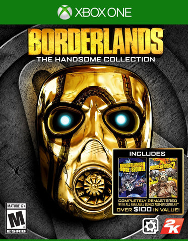 Borderlands: The Handsome Collection For Xbox One (Physical Disc)