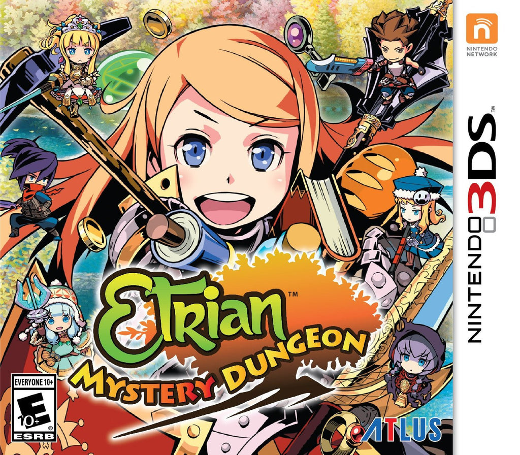Etrian Mystery Dungeon For 3DS (Physical Cartridge)