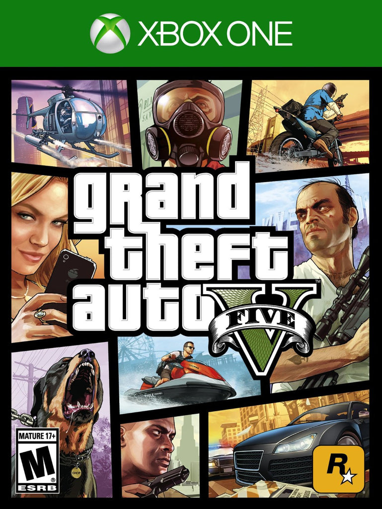 Grand Theft Auto V For Xbox One (Physical Disc)