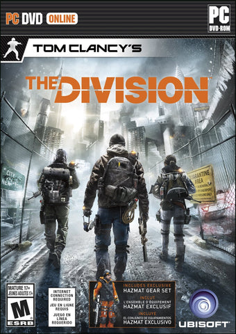 Tom Clancy's The Division For PC (Physical Disc)