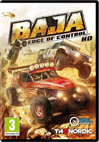 Baja: Edge of Control HD Pre-Order For PC (Physical Disc)