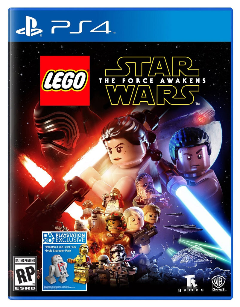 LEGO Star Wars: The Force Awakens - Standard Edition For PlayStation 4 (Physical Disc)